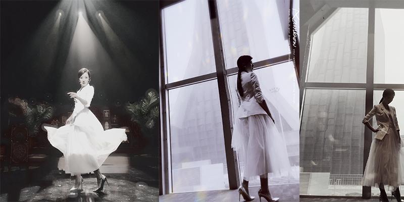李思思晒裙装写真仙气飘飘,李思思二胎后亮相还是那么美啊!