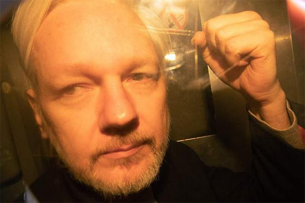 阿桑奇17项新指控由美国司法部发起 涉及间谍法规定违反