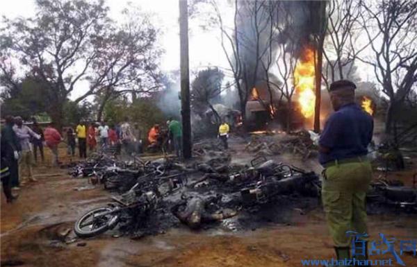 坦桑尼亚油罐车爆炸