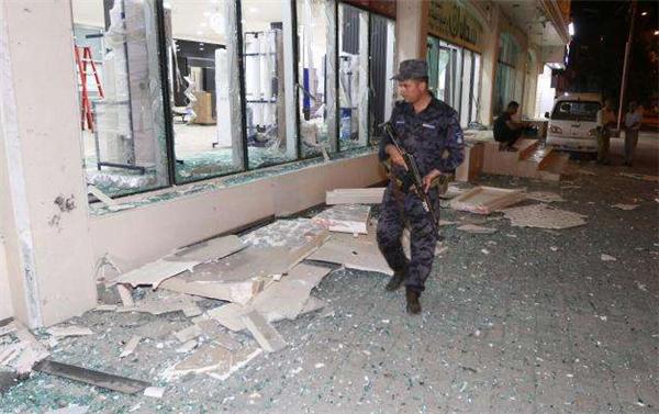 伊拉克首都军火库发生爆炸,初步判定为连日高温所致