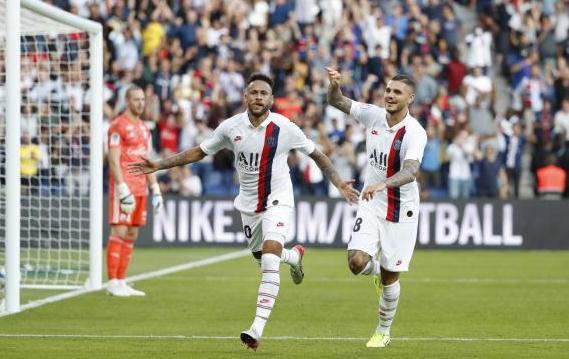 【法甲】内马尔倒钩绝杀 巴黎1-0胜斯特拉斯堡