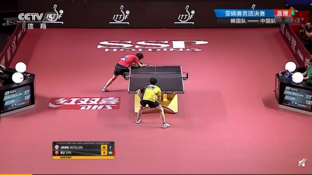 【乒乓球亚锦赛】中国男乒3-0韩国实现11连冠 3场比赛3人3-0