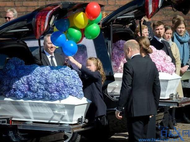 丹麦首富3子葬礼