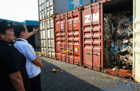 菲律宾拒收洋垃圾