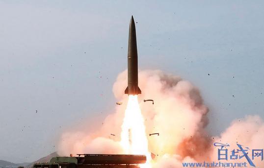 朝鲜发射不明飞行物