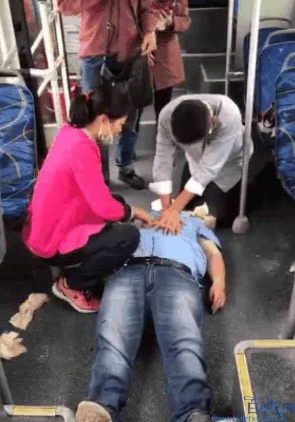 广东公交司机被气死