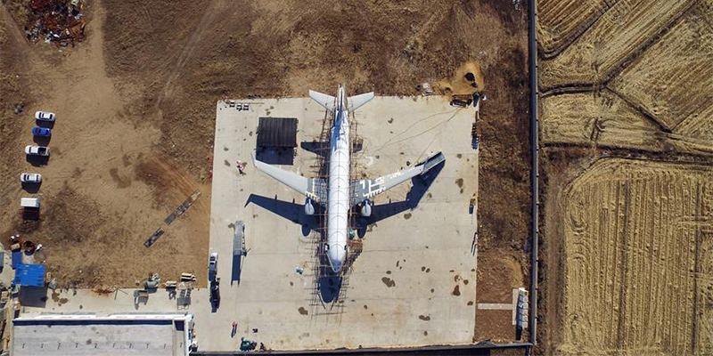 农民手工造飞机