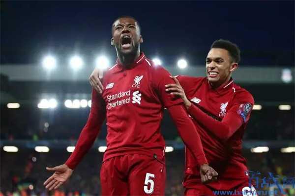 利物浦4-0巴萨