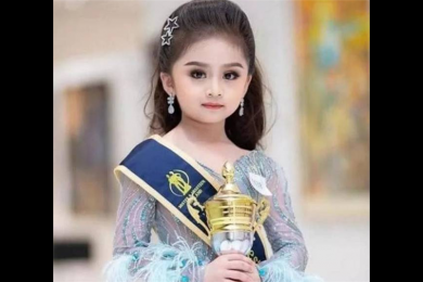 6岁女童获泰国选美冠军,网友称自己又要被骗了