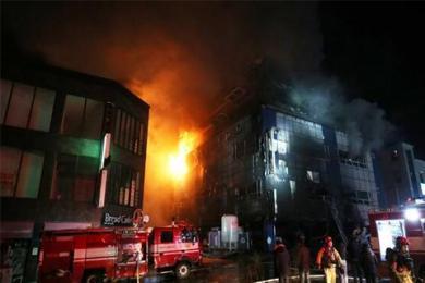 韩国29人瞬间丧命,体育中心特大火灾还造成了29人受伤