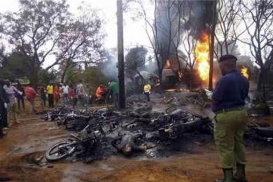 坦桑尼亚一油罐车发生爆炸,事故造成至少57人死亡
