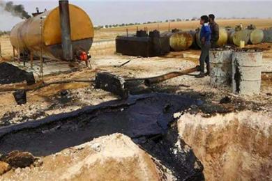 美军紧盯叙利亚油田,俄罗斯痛斥其土匪行为