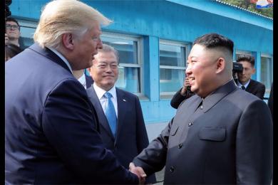 为表达对美韩军演不满,金正恩向特朗普写三页长信