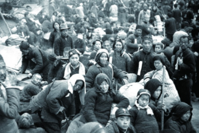 直视悲惨历史1942河南大饥荒惨况