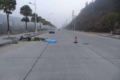 黄冈一卖菜老人清晨被撞,肇事司机逃跑最终落网