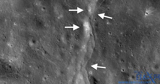 月球正在冷却收缩