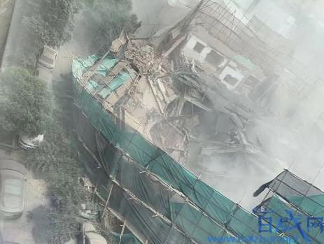 上海一处建筑坍塌,上海建筑坍塌,建筑坍塌
