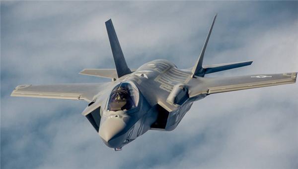 美军F35战机撞鸟,美军F35战机起飞时撞鸟,F35战机撞鸟