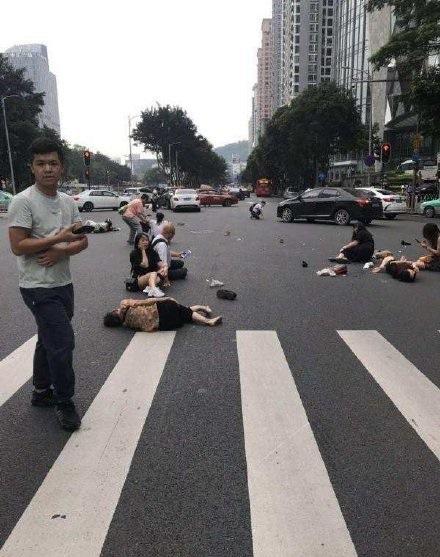 广州女司机撞行人,广州女司机,女司机撞行人