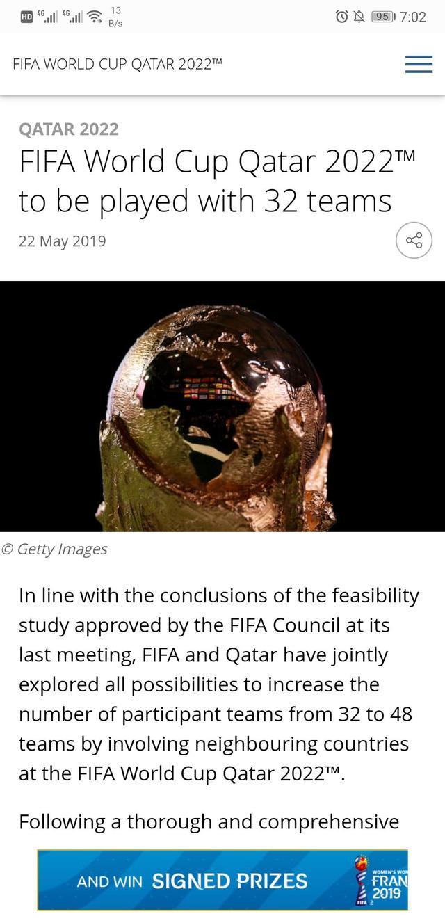 2022世界杯不扩军,2022世界杯,2022年卡塔尔世界杯