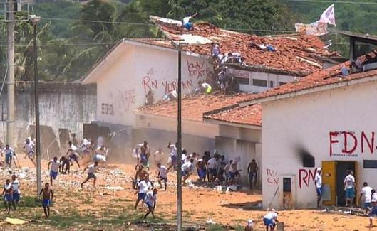 巴西囚犯发生冲突致15人死亡,监狱里究竟发生了什么?