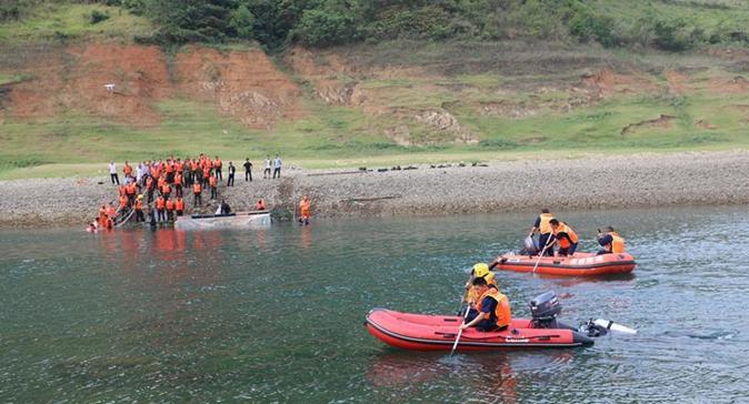 貴州翻船事件搜救工作結束,最后1名失聯人員遺體被找到