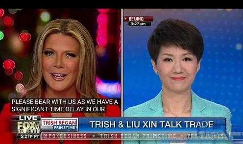 中美主播約辯:主播劉欣被插話多次 Trish的職業素養遭質疑