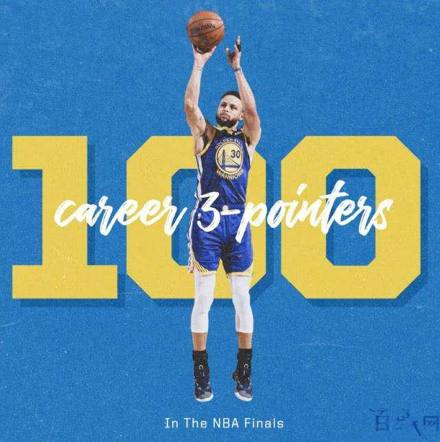 NBA总决赛,库里第100个三分,库里,NBA