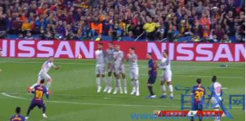 欧冠最佳进球,梅西最佳任意球,欧冠,梅西