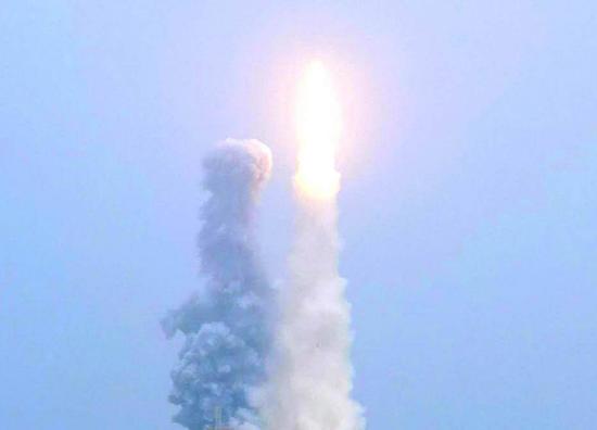 長征系列唯一一款固體運載火箭:長征11號成功發射