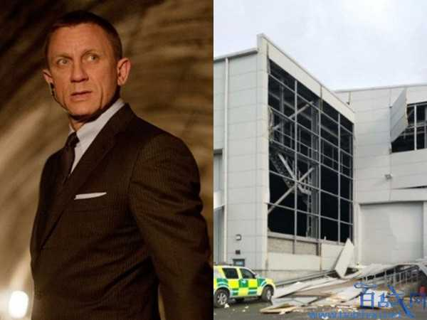 007片場發生爆炸,007電影,007