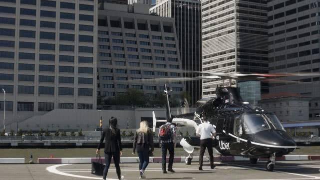 uber推直升機服務 票價約200~225美元之間