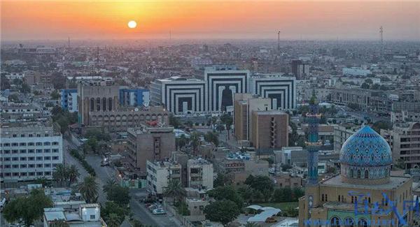 伊拉克首都再次盛开,伊拉克首都十足盛开,伊拉克首都