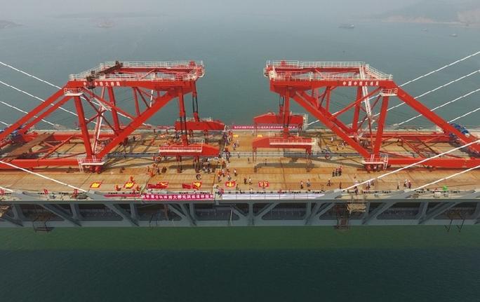 中國跨海大橋再創世界紀錄,主跨達532米前無古人