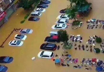 江西多地暴雨以致122.1万人受灾 直接经济损失数十亿