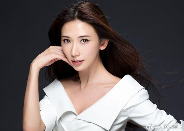 林志玲婚后遭侵犯肖像权 宣布肖像权维权案已胜诉