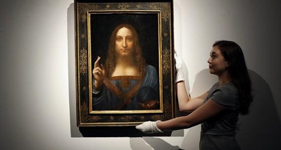 世界最贵名画下落曝光,疑似被在沙特王储收藏于游轮