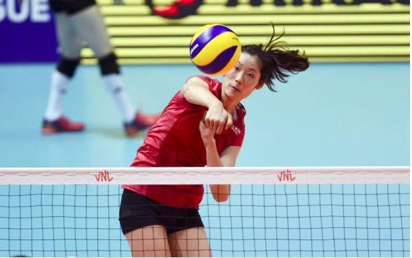赞!2019世界排球联赛 中国女排3:0横扫波兰