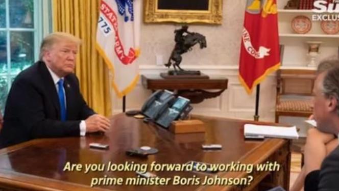 英国首相候选人挂特朗普电话,突然来电还以为是恶作剧