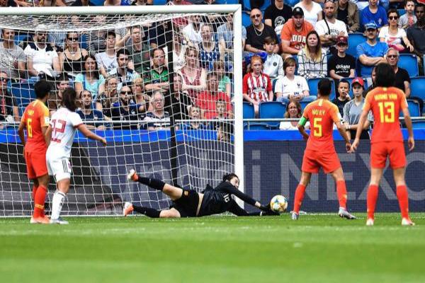 女足世界杯中國女足0:0西班牙晉級16強 門將彭詩夢當選最佳球員
