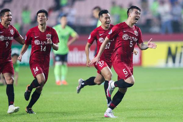 上海上港再进亚冠8强 中超球队可能创造历史最好成绩