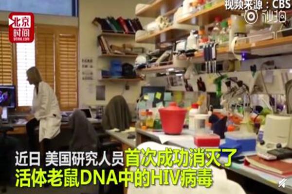 艾滋病有救了吗?基因编辑清除HIV艾滋病毒实验成功
