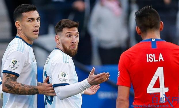 梅西被红牌罚下,梅西为什么被罚红牌,梅西被罚红牌,梅西