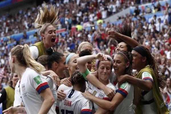 2019女足世界杯决赛冠军出炉 美国女足2-0荷兰女足刷新8大记录