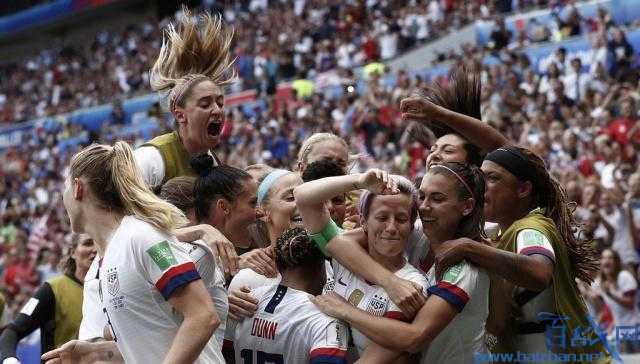 女足世界杯决赛,2019女足世界杯冠军,美国女足刷新8大记录,女足