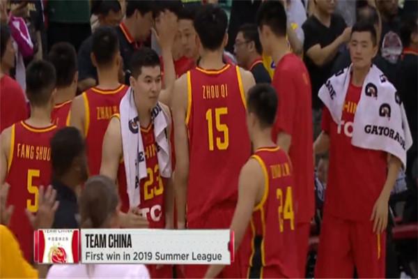 中国男篮,周琦,郭艾伦,nba夏季联赛,黄蜂