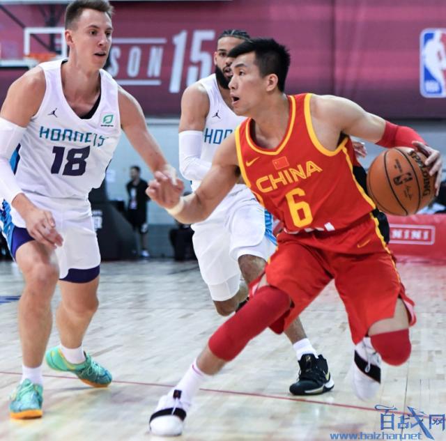 郭艾伦晃倒对手,中国男篮,中国男篮84-80黄蜂