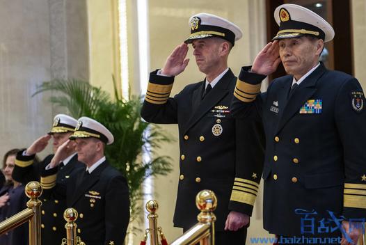 美国海军部长与中国通话,美国海军司令部与中国通话,中国弹道导弹