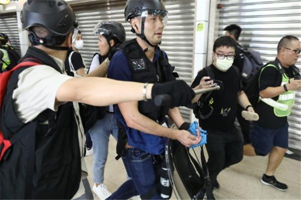 声援,港独事件,警察,港独分子