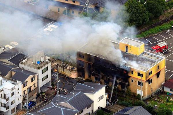京都动画发生爆炸火灾最新消息 目前已致至少24人死亡